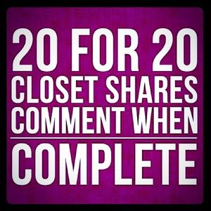 Other - ❤️❤️20 for 20 Shares❤️❤️